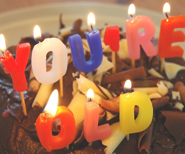 You Re Old Birthday Candles