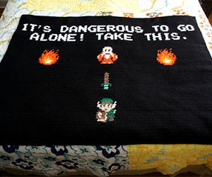 Legend Of Zelda Blanket