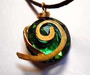 Zelda Kokiri Forest Emerald