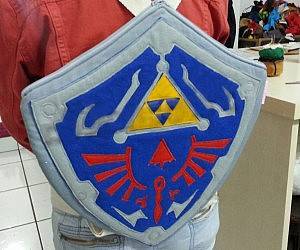Zelda Hylian Shield Backpack