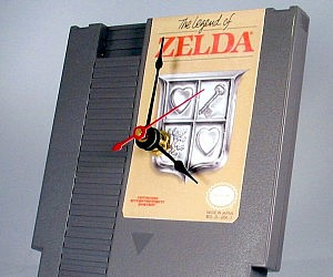 Zelda NES Cartridge Clock
