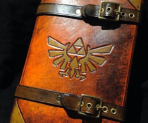 Zelda Triforce Journal