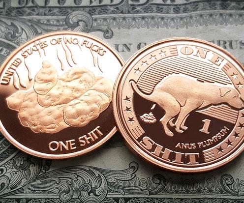 Zero F*cks Coins