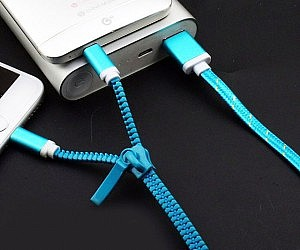 Zipper Charging Cable