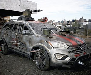Apocalypse Survival Vehicle