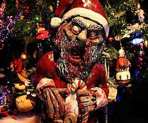 Zombie Santa Ornament