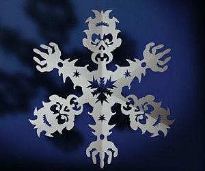 Zombie Snowflake Pattern