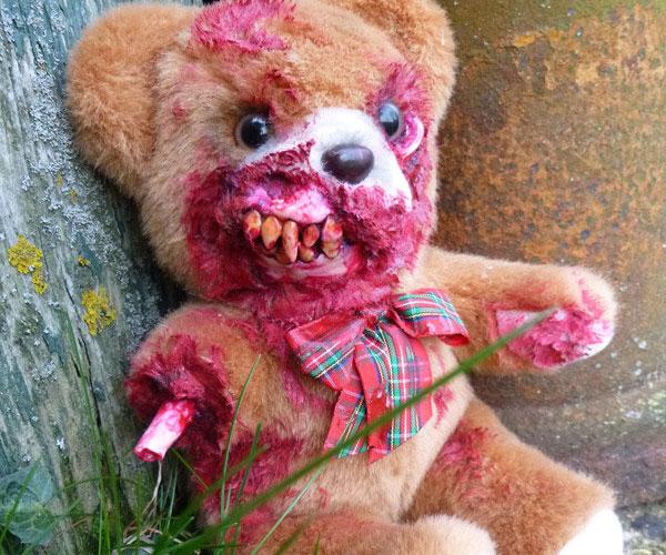 Zombie Teddy Bears