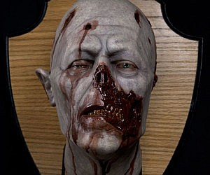 Zombie Wall Plaques